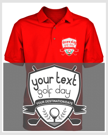 golf holiday polo shirts