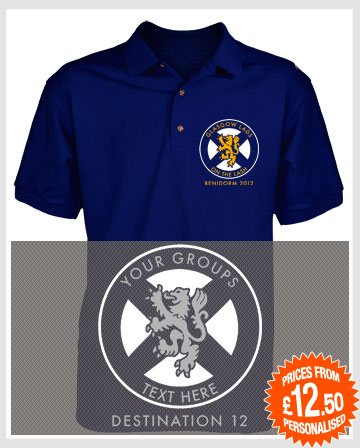 Scotland Lion Polo Shirts
